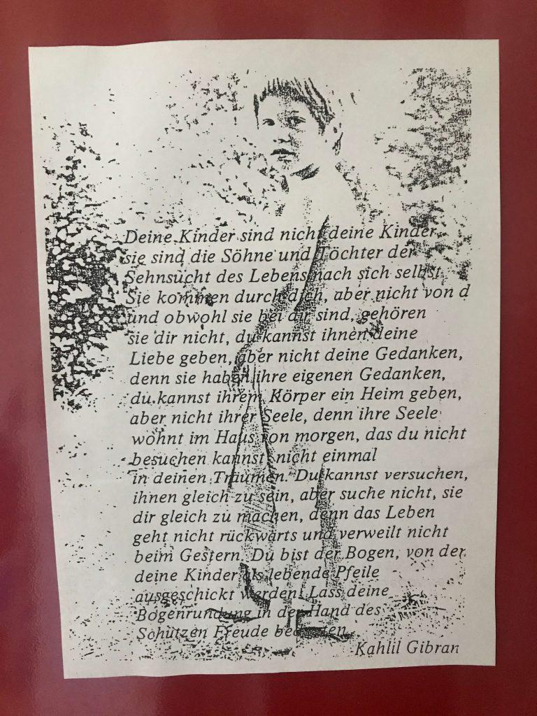 Von den Kindern. Khalil Gibran