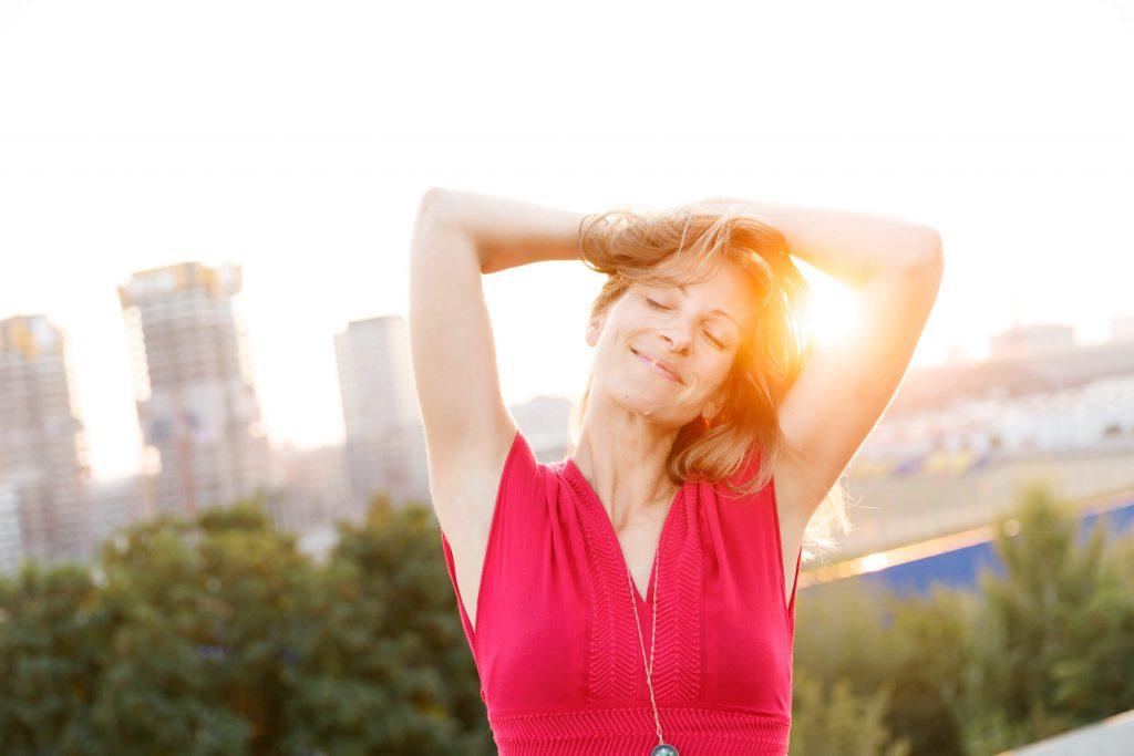 Glücklich durch Meditation