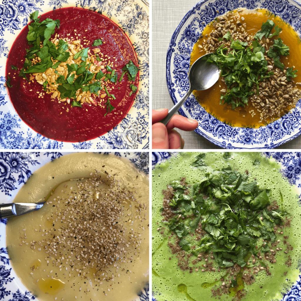 Basenfasten with soups